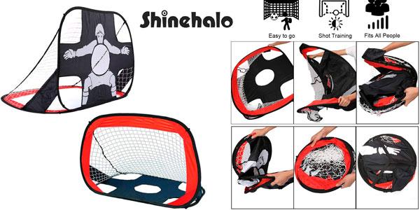 Portería plegable Infantil Shinehalo 2 en 1 barata en Amazon