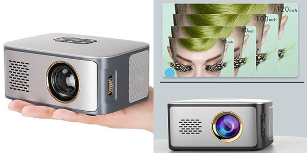 Proyector LED Docooler SD40 LCD 1080p ultra compacto en Amazon