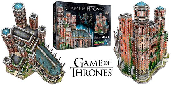Puzle 3D La Fortaleza Roja de Juego de Tronos barato