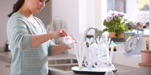 Escurridor Philips Avent para biberones, extractores y chupetes chollo en Amazon