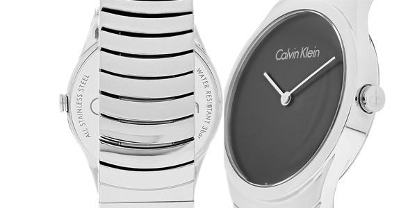 Reloj analógico Calvin Klein Whirl K8A23141 para mujer chollazo en Amazon
