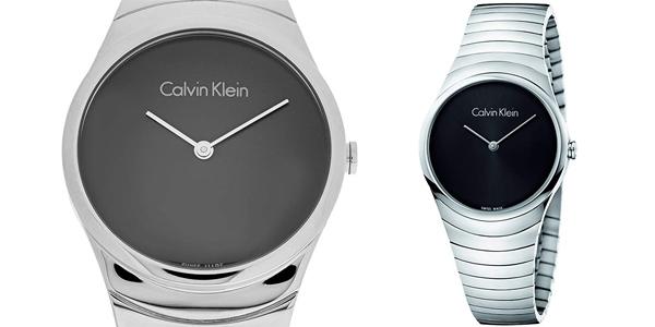 Reloj analógico Calvin Klein Whirl K8A23141 para mujer barato en Amazon