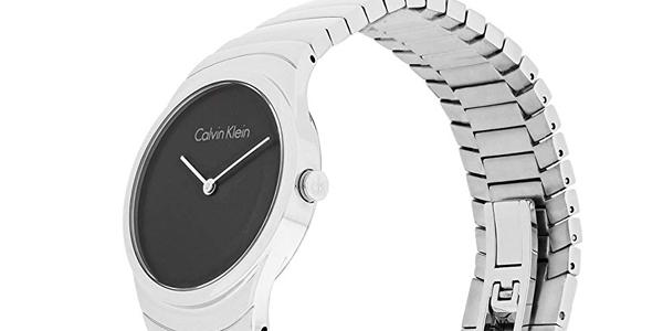 Reloj analógico Calvin Klein Whirl K8A23141 para mujer chollo en Amazon