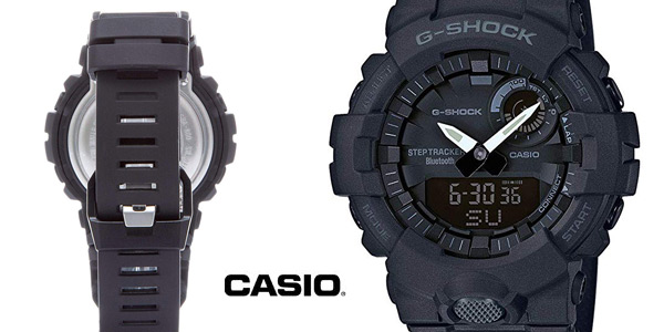 Reloj digital Casio G-SHOCK GBA-800-1AER para hombre barato en Amazon
