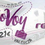 Renfe Alicante-Barcelona promoción billetes enero 2020
