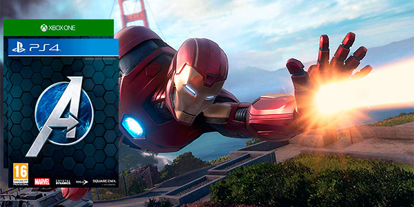 Marvel's Avengers para PS4 y Xbox One al mejor precio