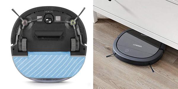 Robot aspirador 4 en 1 Ecovacs Deebot OZMO Slim10 chollo en Amazon