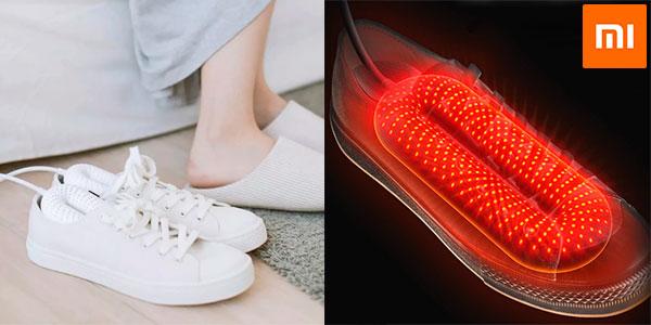 Práctico secador para zapatillas