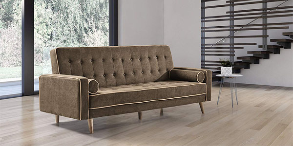 Sofa Cama Oslo Marrón barato en Amazon