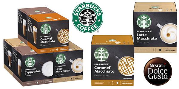 Starbucks cápsulas de café para Dolce Gusto baratas