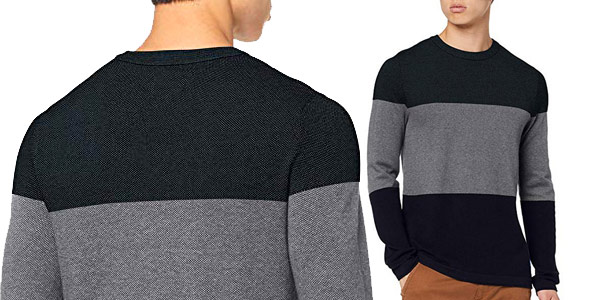Suéter Jack & Jones Jorflash Knit Crew Neck para hombre barato en Amazon