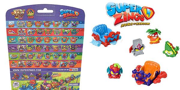 Superzings Serie 5 Aerowagon figuras en oferta