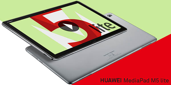 """Tablet Huawei MediaPad M5 Lite 10 de 10,1"""" Full HD LTE 4G barato"""