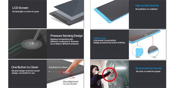 Tableta de Escritura LCD Fesjoy chollo en Amazon