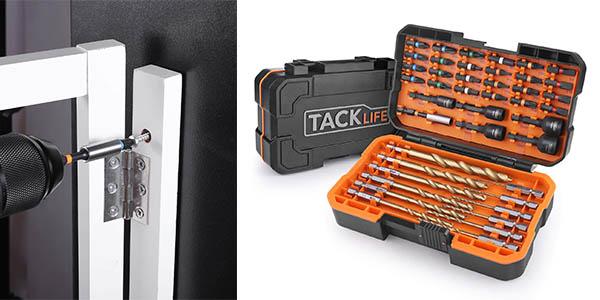 Tacklife DNS02 maletín de puntas para taladro barato