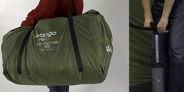 tienda de campaña Vango Odyssey relación calidad-precio altísima
