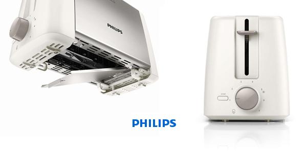 Tostador Daily Philips HD4825/00 con plataforma de calentamiento chollazo en El Corte Inglés
