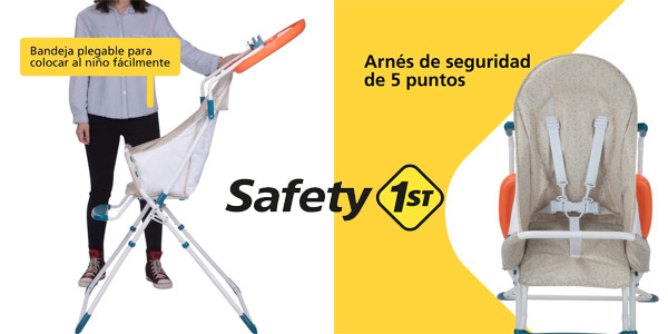 Trona evolutiva plegable Safety 1st Kanji Happy Day chollo en Amazon