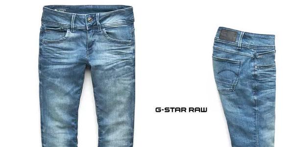 Pantalones vaqueros G-Star Raw Lynn Mid Waist Skinny para mujer chollo en Amazon