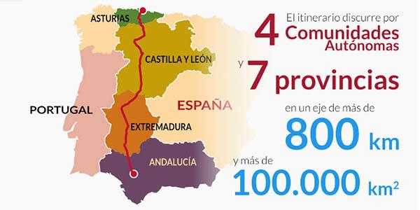 via de la plata romana España alojamientos y recomendaciones