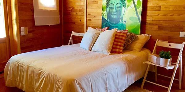 Villa de madera alojamiento turístico barato cerca de Territorio Sénia