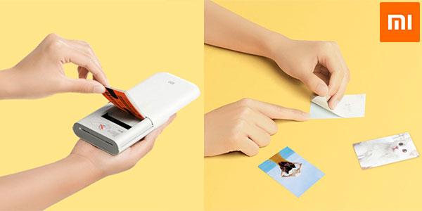Impresora portátil Xiaomi Mijia Photo Printer AR en oferta