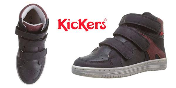 Zapatillas infantiles Kickers Lohan baratas en Amazon