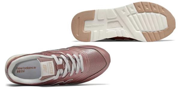 Zapatillas deportivas New Balance 997h para niñas chollo en Amazon