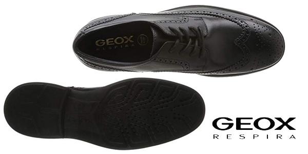 Zapatos de cordones Geox U Dublin B para hombre chollo en Amazon