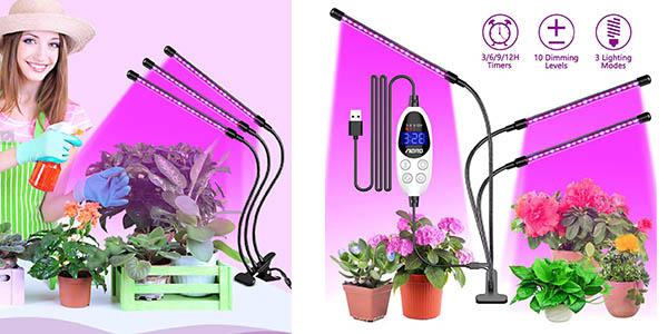Aerb lámpara de crecimiento para cultivo de plantas barata