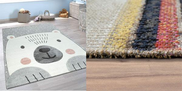 Selección de alfombras modernas en oferta en Amazon