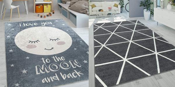 Selección de alfombras modernas rebajadas en Amazon