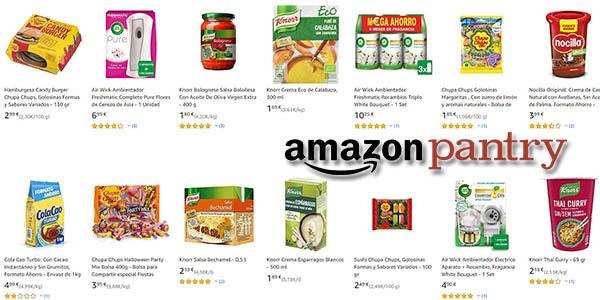 Amazon Pantry promoción envíos gratis febrero 2020