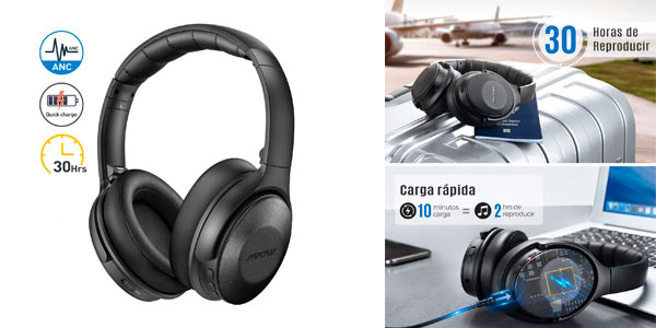 Auriculares Bluetooth Mpow H17 baratos en Amazon