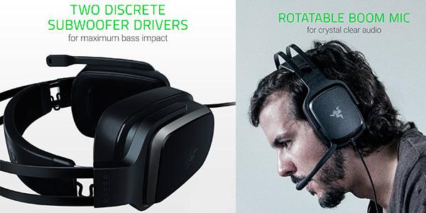 Auriculares gaming Razer Tiamat 2.2 V2 baratos