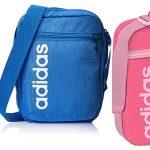 Bandolera Adidas Linear Core azul barata en Amazon
