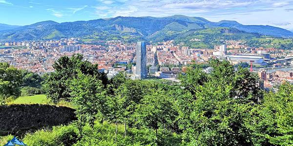 Bilbao escapada con alojamiento en el mirador de Artxanda chollo