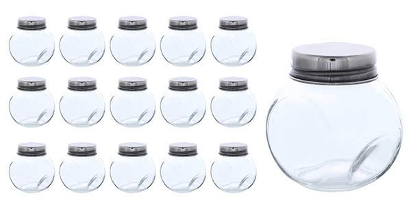 Blue Panda frascos de cristal para almacenaje y decoración chollo