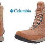 Botas bajas de nieve Columbia NIKISKI para mujer baratas en Amazon
