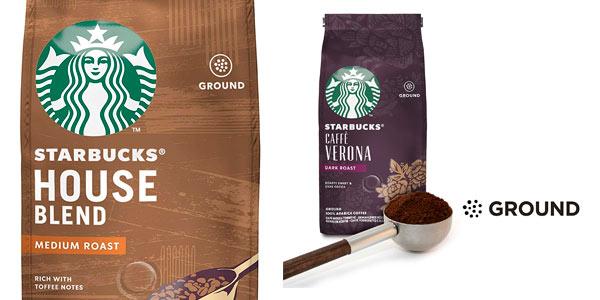 Café molido Starbucks barato en Amazon