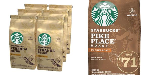 Café molido Starbucks en oferta en Amazon