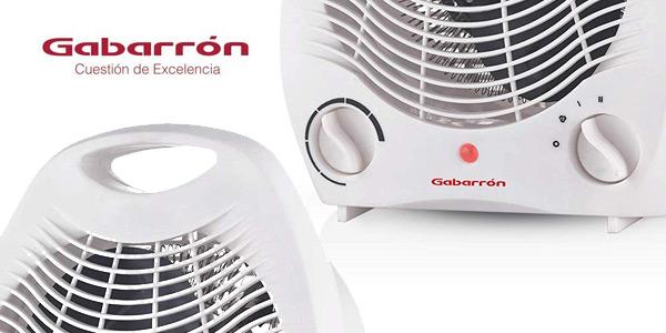 Calefactor portátil Gabarrón TV-2002 con 2 niveles de potencia chollo en Amazon