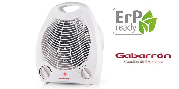 Calefactor portátil Gabarrón TV-2002 con 2 niveles de potencia barato en Amazon