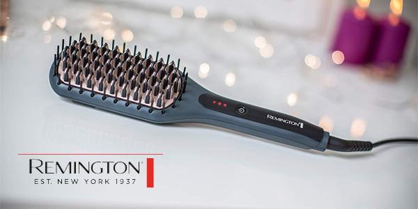 Cepillo alisador Remington CB7400 con cerámica avanzada antiestática chollo en Amazon