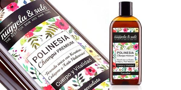 Nuggela & Sulé Polinesia Champú Premium con Keratina de 250 ml barato en Amazon