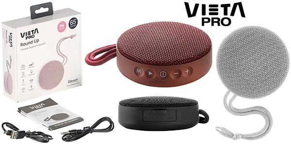 Chollo Altavoz inalámbrico Vieta Pro Round Up Bluetooth con radio FM
