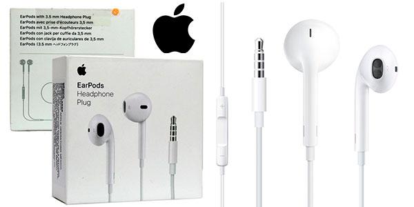 Chollo Auriculares EarPods de Apple con clavija de 3,5 mm