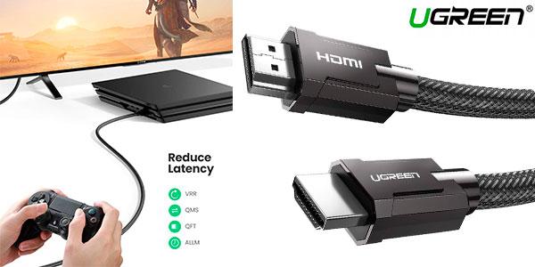 Chollo Cable Ugreen HDMI 2.1 8K y 4K de 120 Hz