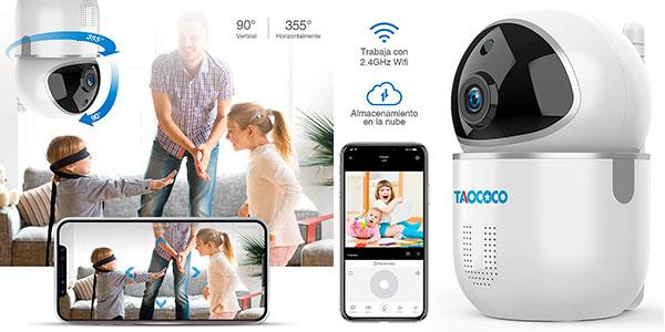 Chollo Cámara de Vigilancia IP Taococo 1080P con visión nocturna