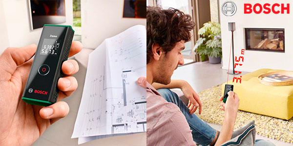 Chollo Medidor láser de distancias Bosch Zamo